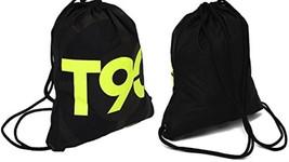 Nike Soccer T90 Logo Gymsack  Black W/ Lime LogoSports, Gym School Or Wo... - $21.94