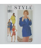 Style 1013 Sewing Pattern Misses Top Shorts Skirt Jacket Swimsuit Sizes ... - $13.85