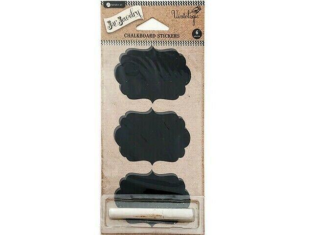 Hampton Art Jar Jewelry Chalkboard Stickers with Chalk #AC0530