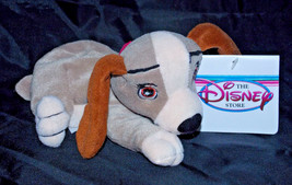 Lady Plush Lady and the Tramp 7in Disney Bean Bag Stuffed Animal Retired New Dog - $5.99