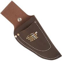 "AM Leonard Pruner & Knife Case Leather Pouch 8"" w/ Snap DPB8 - $19.99"