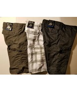 Blue Gear Boys Board Shorts Swim Shorts Trunks Size  18 NWT White Black ... - $14.39
