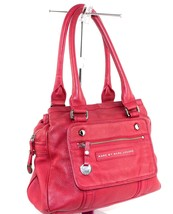 Authentic Marc By Marc Jacobs hot pink cow leather ladies shoulder bag  - $128.70