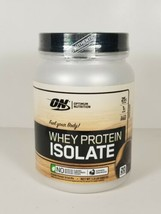 Optimum Nutrition Whey Protein Isolate Chocolate 1.5 lb 20 Servings NEW 07/2021 - $26.45