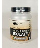 Optimum Nutrition Whey Protein Isolate Chocolate 1.5 lb 20 Servings NEW ... - $26.45