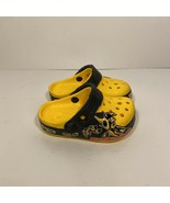 CROCS Size C 4/5 Crocband Transformer Bumblebee Clogs Kids Toddler Shoes... - $27.71