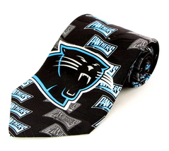 Carolina Panthers Cat Mens Silk Necktie NFL Football Neck Tie Sports Fan... - €29,04 EUR
