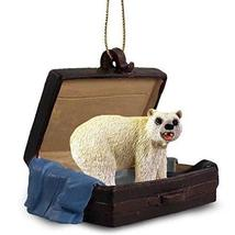 Conversation Concepts Bear Polar Traveling Companion Ornament - $13.99