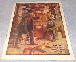 Vintage Original L L Bean Catalog 1935 Sporting Outdoor Fishing Camping - $39.95