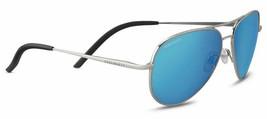 Serengeti CARRARA SMALL Silver / Polarized 555nm Blue Sunglasses 8553  - $246.51