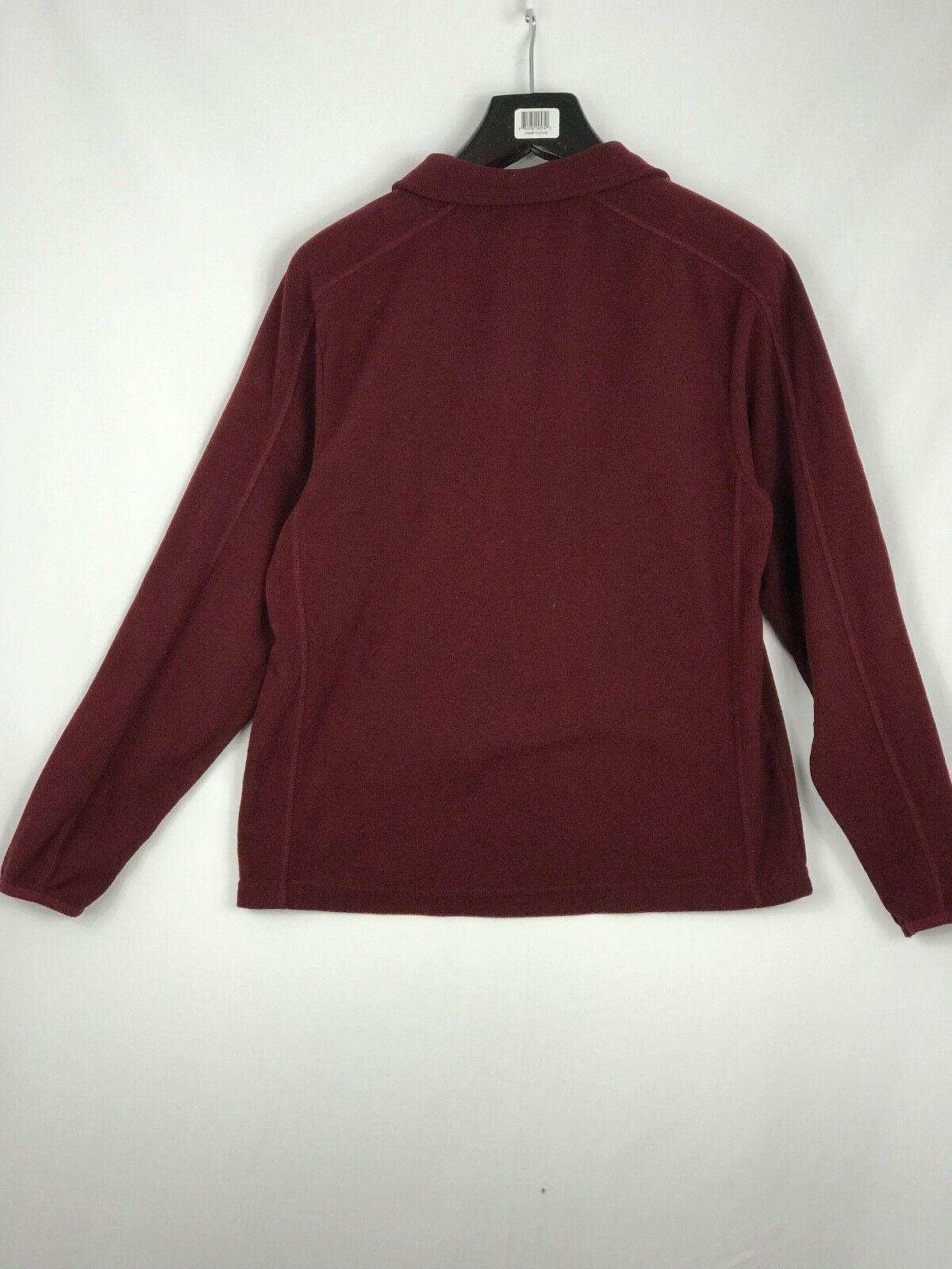Champion Men Pullover Sweatshirt Fuzzy 3/4 Zip Long Sleeve Athletic Size S  image 2