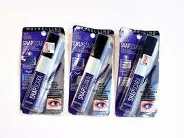 Lot of 3 Maybelline Snapscara 310 Ultra Violet Easy On Easy Off Mascara ... - $11.57