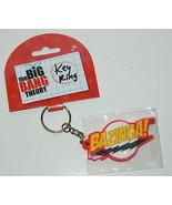 The Big Bang Theory Bazinga Name Rubber Key Ring Keychain, NEW UNUSED - $6.89