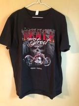 Beale Street T-Shirt Mens L Memphis TN Biker Motorcycle Blues Bikes Beer Babes - $9.79