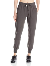 X-Small Gramicci Women's Tessie Knit Jogger Pants Elastic Waistband Pant Grey