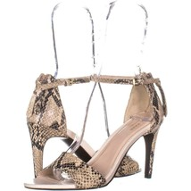 Cole Haan Clara Grand Ankle-Strap Dress Sandals 482, Roccia Snake Ivory,... - $54.71