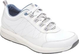 Rockport TruStride Walking Sneaker (Women's Shoes) in White Nubuck - NEW - $94.45