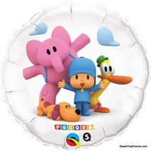 POCOYO Party Supplies BALLOONS Pocoyó Birthday Mylar Decoration Elly Fie... - €7,16 EUR