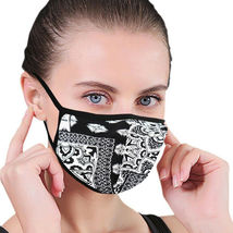 Women's Floral Reusable Face Cover Cloth Protection Mask Handmade USA Lot of 6 image 5