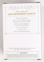 Wondershop 30 ct Battery powered Multicolored Dew Drop Christmas Lights image 2