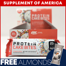 "Optimum Nutrition Protein Cake Bites 9ct. Delicious! ""Free Shipping"" - $15.82"