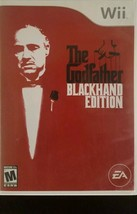 The Godfather -- Blackhand Edition (Nintendo Wii, 2007) + Manual - $8.50