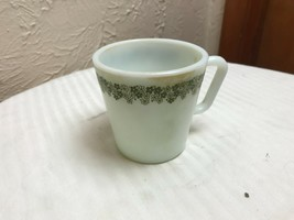 Pyrex 1410 Crazy Daisy Spring Blossom Milk Glass Coffee Mug D Handle - $5.86