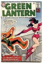 Green Lantern #16 1st Appearance Star Sapphire Comic Book 1962 Dc - $194.00