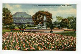 Conservatory and Fountain Lincoln Park Chicago Illinois - $1.59