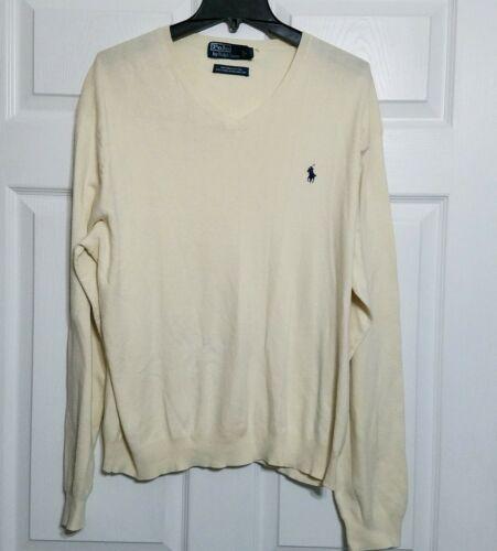 Polo Ralph Lauren Men's Vintage Knit Pullover Sweater ~ Sz XL ~ Long Sleeve