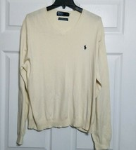 Polo Ralph Lauren Men's Vintage Knit Pullover Sweater ~ Sz XL ~ Long Sleeve - $24.74