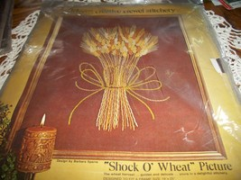Paragon Needle Craft Shock O Wheat Picture Crewel Kit 0112 - $30.00