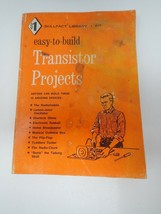 Vintage Skillfact Library Easy to Build Transistor Projects Len Buckwalter - $11.88