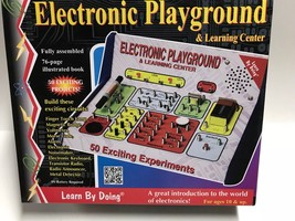 Elenco Electronic Playground & Learning Center  50-in-One - $28.22