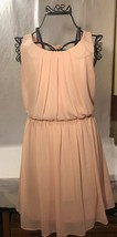 Forever 21 By & By Pink Dress Lace Size Medium - $14.99