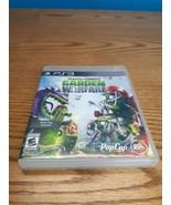 Plants vs. Zombies: Garden Warfare Sony PlayStation 3 PS3 Game No Manual... - $7.43
