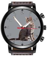 Egyptian Mau Cat Unique Unisex Beautiful Wrist Watch UK FAST - $45.00