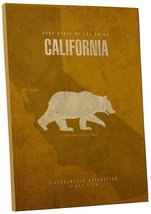 "Pingo World 0210QHFMJVA ""California State Grizzly Bear"" Gallery Wrapped Canvas A - $54.40"