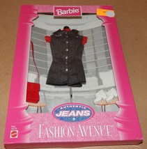 Barbie Fashion Avenue Collection Real Clothes Jeans Mattel 19179 NIB 97 121V - $17.49