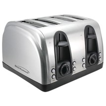 Brentwood 4-slice Elegant Toaster With Brushed Stainless Steel Finish BT... - €59,92 EUR