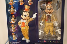 Medicom Tokyo Disney Land 30th Mickey Mouse Figure Limited Edition Actio... - $1,919.99
