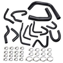 Silicone Radiator Coolant Hose Kit For Toyota Pickup 3.0L V6 1990-1995 Black - $62.87