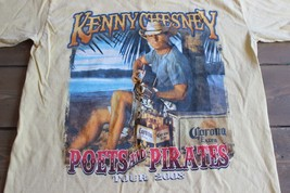 Kenny Chesney Poets and Pirates 2008 Concert Tour Shirt M - $14.84