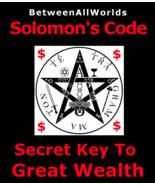 Quantum Money Wealth Spell Secret Solomon Code for Vast Riches Betweenal... - $155.27