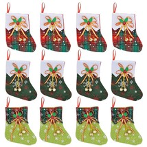 12 Pack 6 Mini Christmas Ing With Jingle Bells, Xmas Ings For Christm - £14.53 GBP