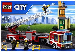 LEGO City Fire Engine Set 60112 [New] Building Kit Toy - $137.99