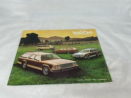 1979 Ford Wagons Sales Brochure Buyer's Guide Dealer Car Advertising - $10.89