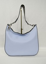MARC By Marc Jacobs M0009356 Gotham Shoulder Bag Cielo/Black Multi Webbing Strap - $299.00
