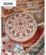 Wool Pincushion and Fob cross stitch chart Jeanette Douglas Designs - $7.00
