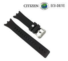Citizen 59-S53309 Rechange Original 26mm Caoutchouc Noir Bracelet de Montre - $153.38